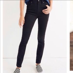 "Madewell Black ""Slim Boyjean"" Jeans"